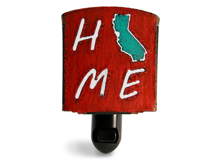 Reclaimed Metal Home State Night Light by Whimsies - 59