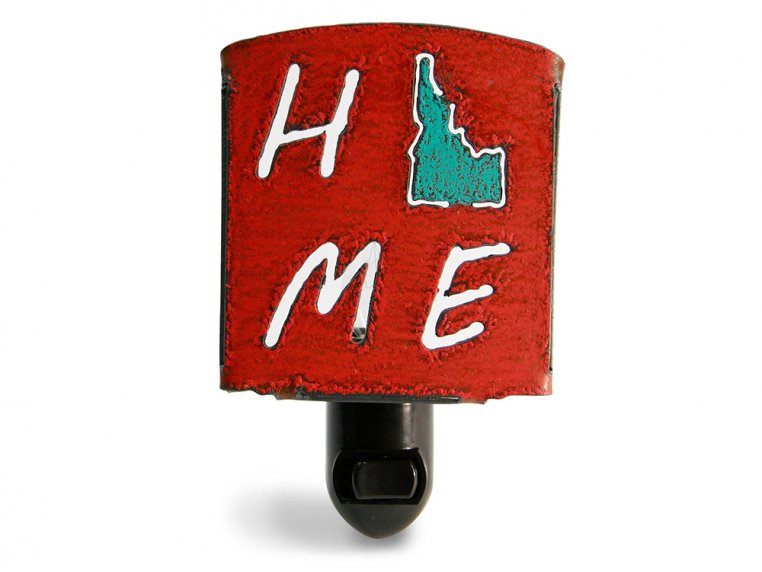 Reclaimed Metal Home State Night Light by Whimsies - 66
