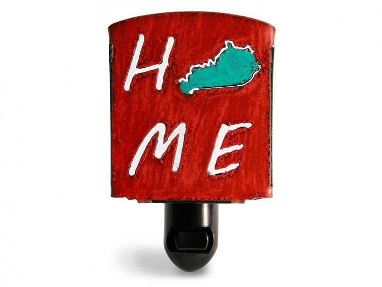 Reclaimed Metal Home State Night Light by Whimsies - 71