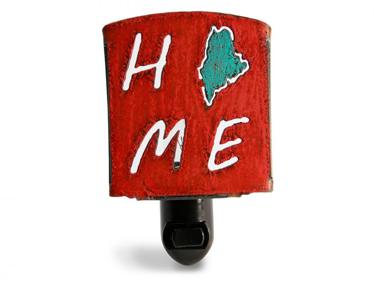 Reclaimed Metal Home State Night Light by Whimsies - 73