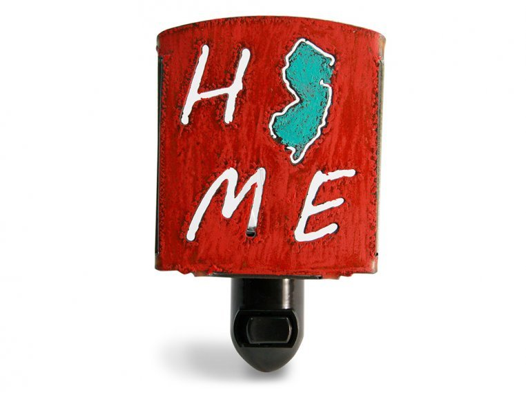 Reclaimed Metal Home State Night Light by Whimsies - 83