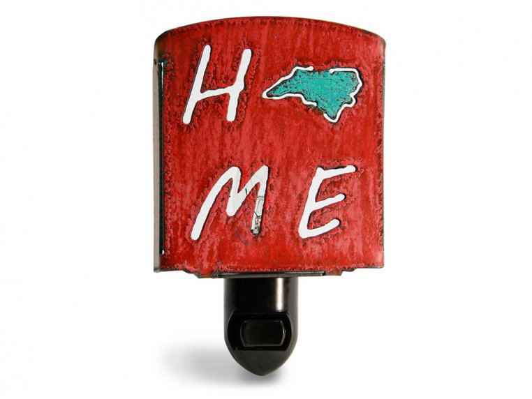 Reclaimed Metal Home State Night Light by Whimsies - 86