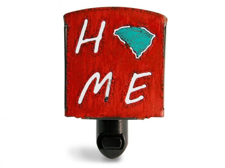 Reclaimed Metal Home State Night Light by Whimsies - 93