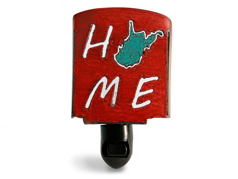 Reclaimed Metal Home State Night Light by Whimsies - 102