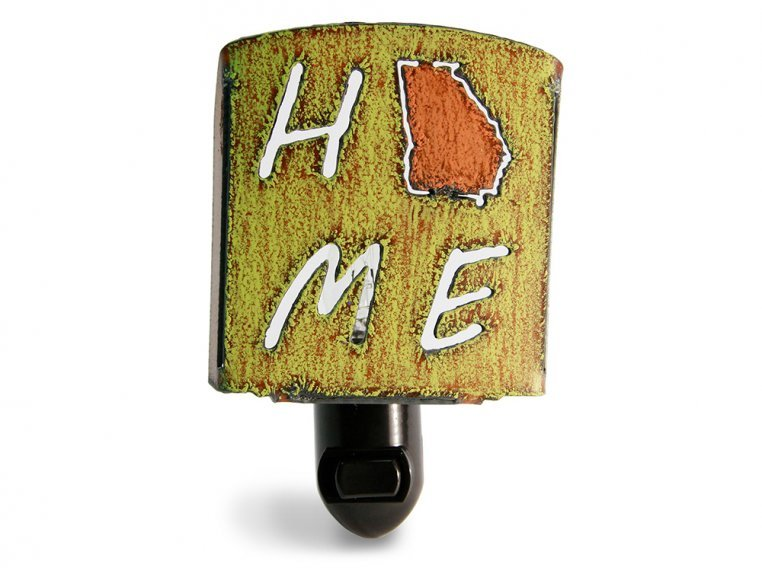 Reclaimed Metal Home State Night Light by Whimsies - 114