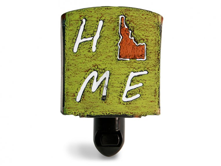 Reclaimed Metal Home State Night Light by Whimsies - 116