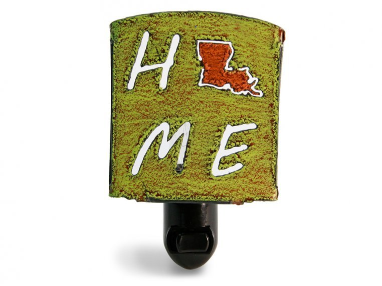 Reclaimed Metal Home State Night Light by Whimsies - 122