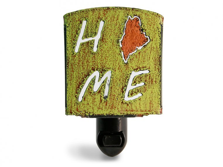 Reclaimed Metal Home State Night Light by Whimsies - 123