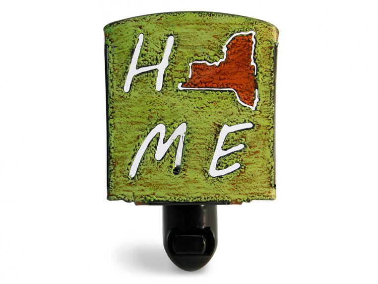 Reclaimed Metal Home State Night Light by Whimsies - 136