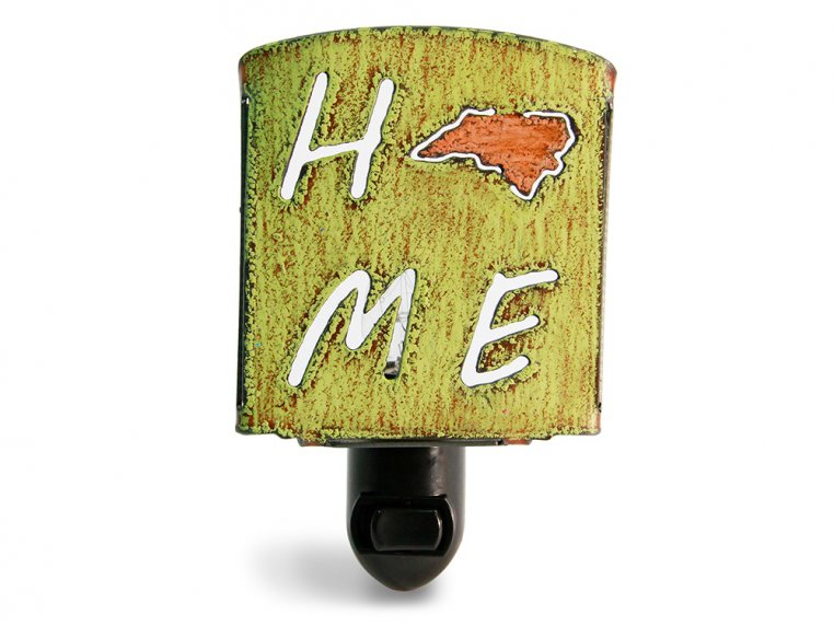 Reclaimed Metal Home State Night Light by Whimsies - 137