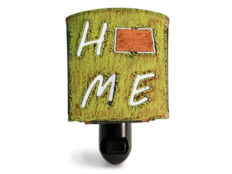 Reclaimed Metal Home State Night Light by Whimsies - 138