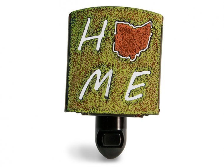 Reclaimed Metal Home State Night Light by Whimsies - 139