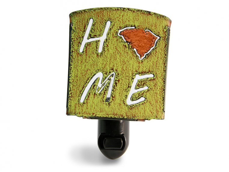 Reclaimed Metal Home State Night Light by Whimsies - 144