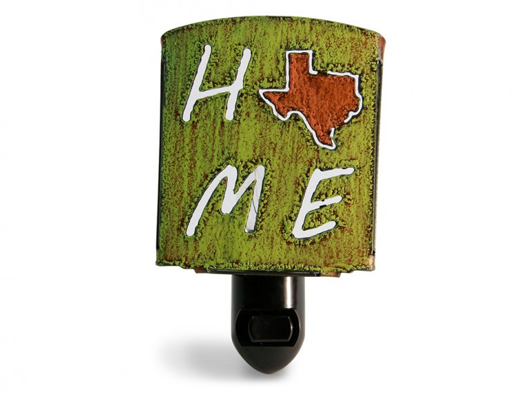 Reclaimed Metal Home State Night Light by Whimsies - 147