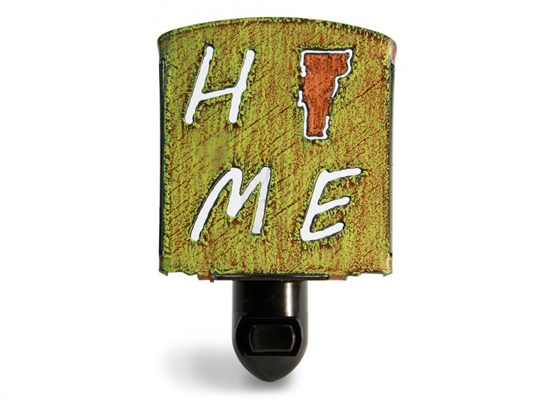 Reclaimed Metal Home State Night Light by Whimsies - 149