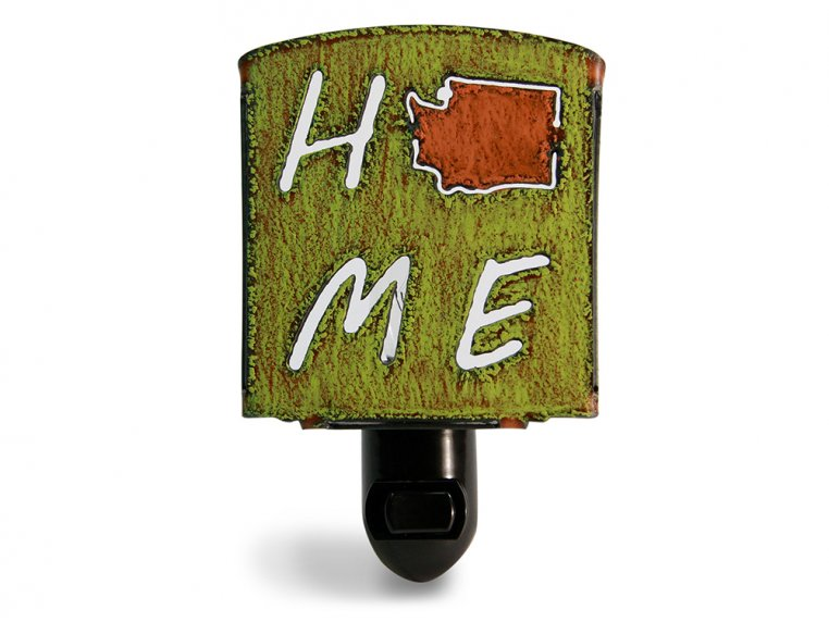Reclaimed Metal Home State Night Light by Whimsies - 151