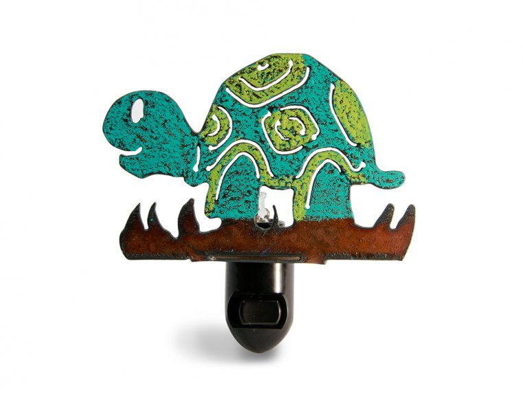 Reclaimed Metal Animal Night Light by Whimsies - 7