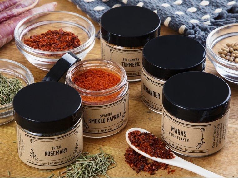 Basics Spice Gift Set - Choose 5 by Curio Spice Co. - 1