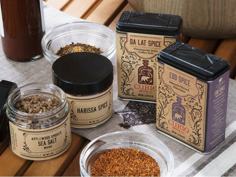 Grilling Spice Gift Set by Curio Spice Co. - 1