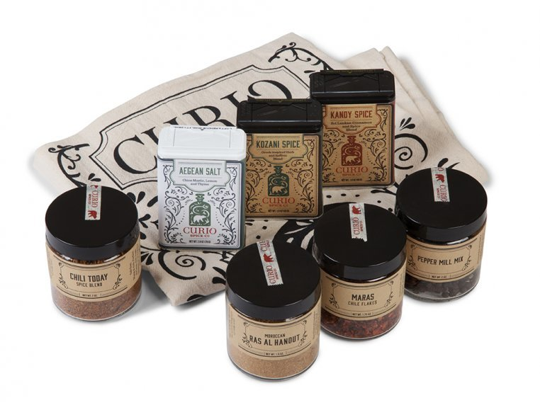 Spice Gallery Gift Set by Curio Spice Co. - 3