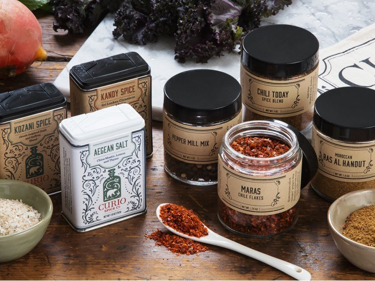 Spice Gallery Gift Set by Curio Spice Co. - 1