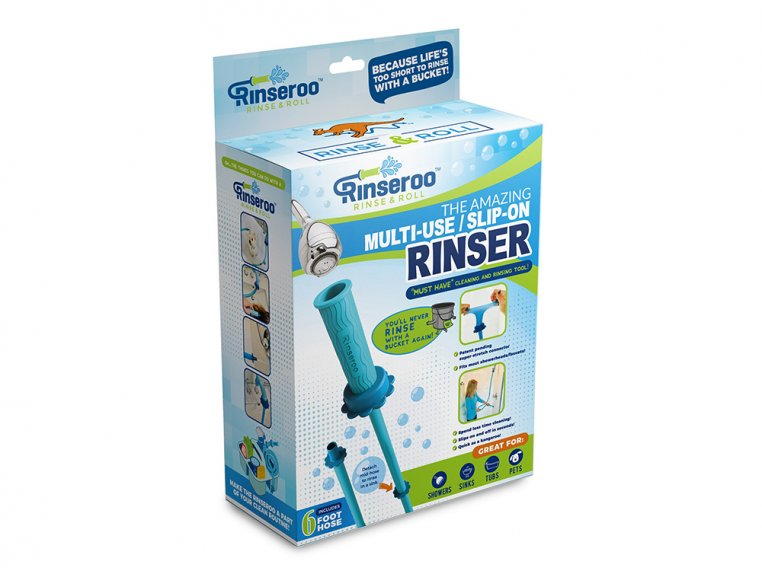 Slip-On Shower Attachment Hose by Rinseroo - 5