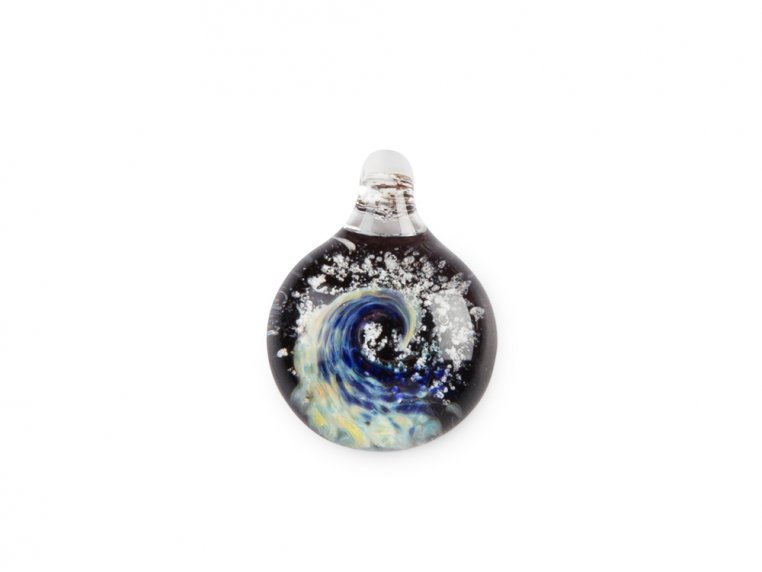 Pet Memorial Glass Pendant by TZ Glass by Tari Zarka - 6