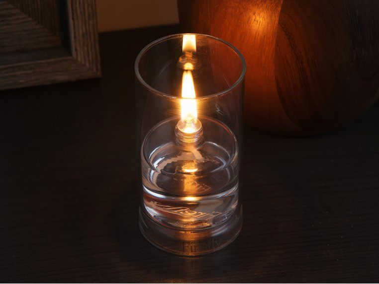 Ethereal Glass Oil Lamp by Firefly Fuel - 2