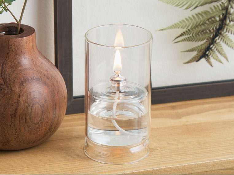 Ethereal Glass Oil Lamp by Firefly Fuel - 1