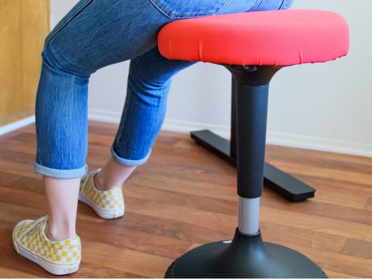 Wobble Stool Standing Desk Chair by Uncaged Ergonomics - 2