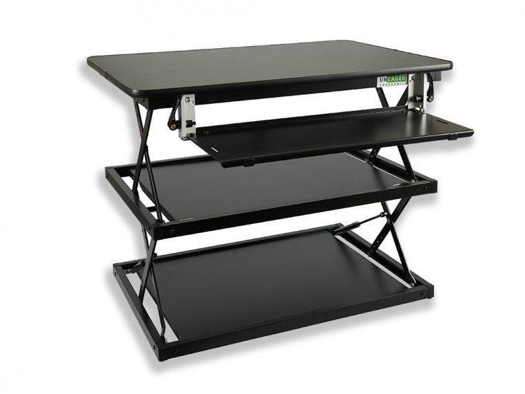 Multi-Level Adjustable Standing Desk by Uncaged Ergonomics - 4