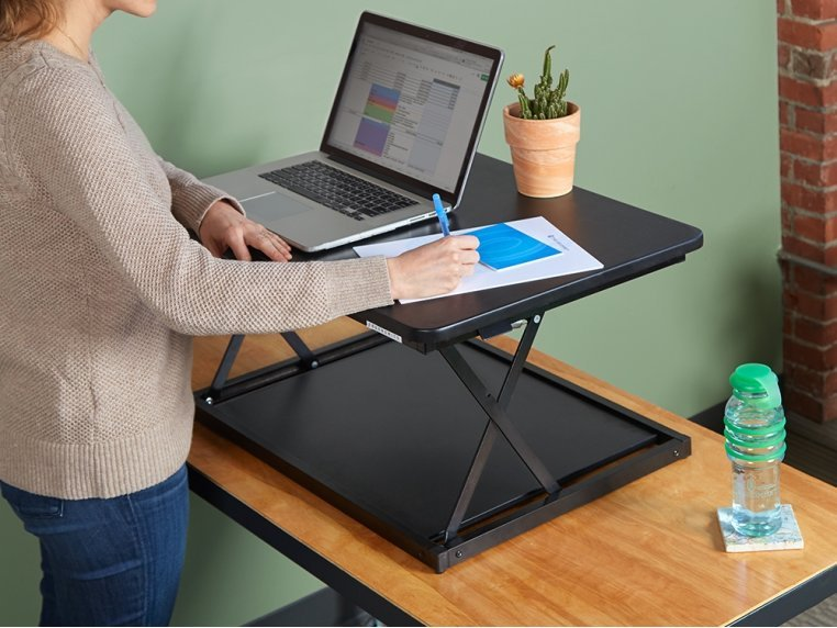 Single-Level Adjustable Standing Desk by Uncaged Ergonomics - 1