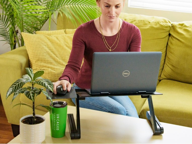Portable Laptop Stand & Lap Desk by Uncaged Ergonomics - 2