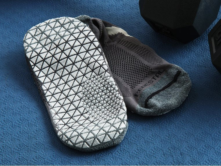 Indoor Training Grip Socks by Pedestal Footwear - 3