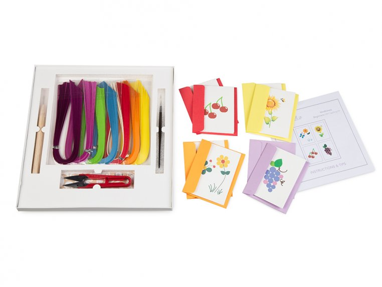 Beginner Paper Quilling Card Kit by Quilling Card - 3
