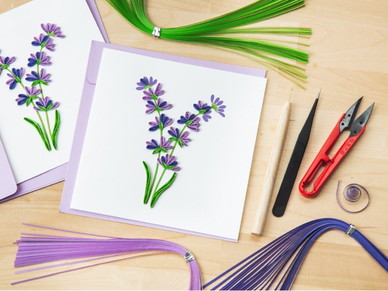 Advanced Paper Quilling Card Kit by Quilling Card - 2