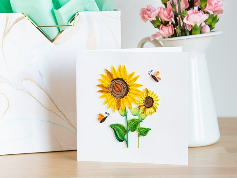 Advanced Paper Quilling Card Kit by Quilling Card - 3