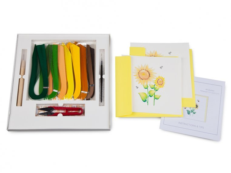Advanced Paper Quilling Card Kit by Quilling Card - 4