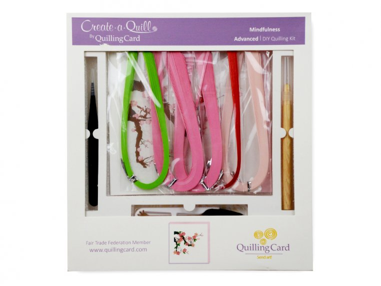 Advanced Paper Quilling Card Kit by Quilling Card - 5