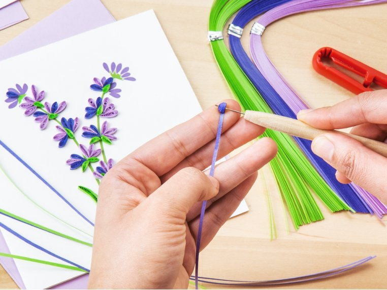 Advanced Paper Quilling Card Kit by Quilling Card - 1