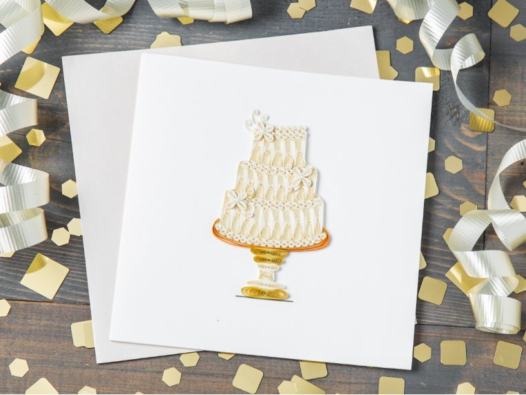 Handcrafted Quilled Card - Occasion by Quilling Card - 1