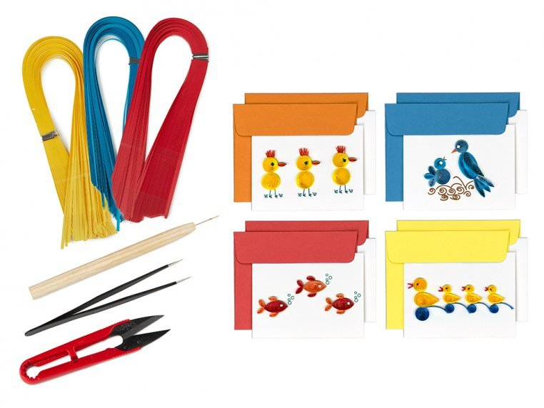 Beginner Paper Quilling Card Kit by Quilling Card - 7