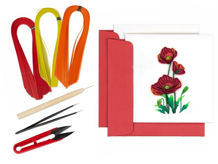 Advanced Paper Quilling Card Kit by Quilling Card - 6