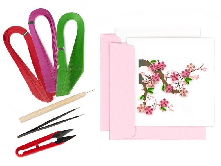Advanced Paper Quilling Card Kit by Quilling Card - 8