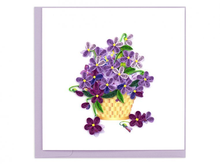 Handcrafted Quilled Card - Floral by Quilling Card - 5