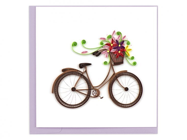 Handcrafted Quilled Card - Lifestyle by Quilling Card - 4