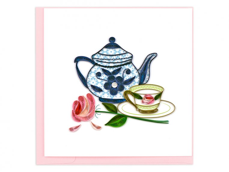 Handcrafted Quilled Card - Lifestyle by Quilling Card - 9