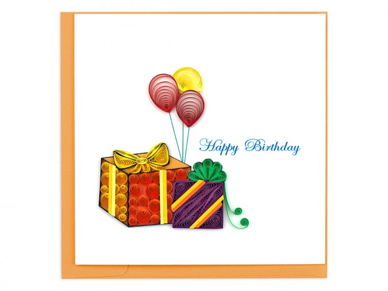 Handcrafted Quilled Card - Occasion by Quilling Card - 3