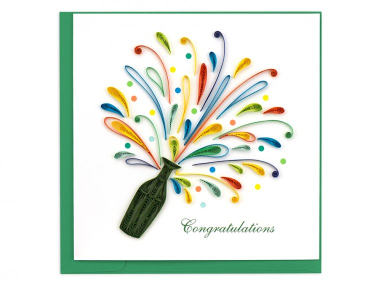 Handcrafted Quilled Card - Occasion by Quilling Card - 8