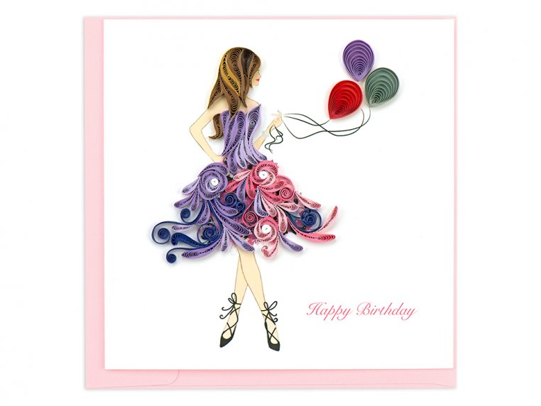 Handcrafted Quilled Card - Occasion by Quilling Card - 9
